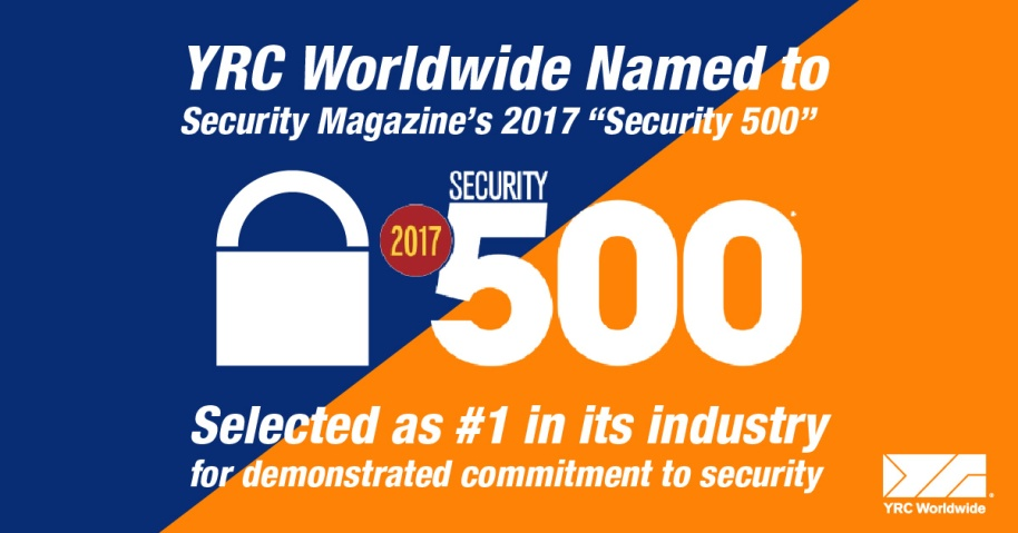 YRCW Security 500 Award