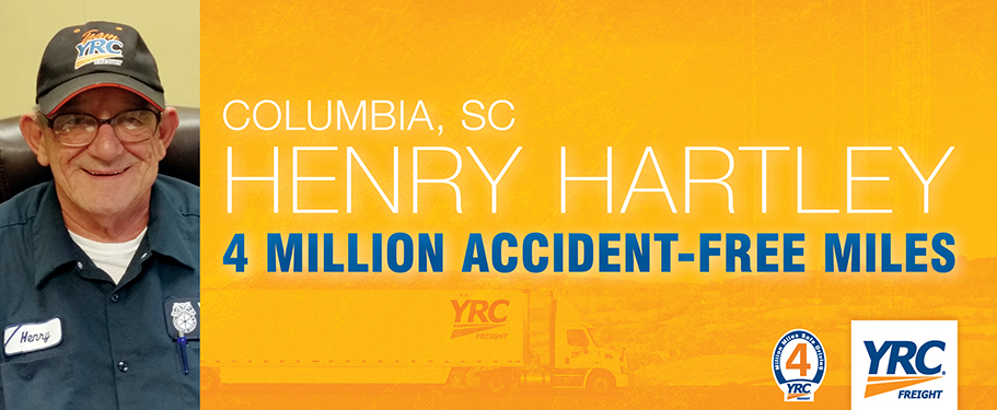 YRC Freight Driver Henry Hartley