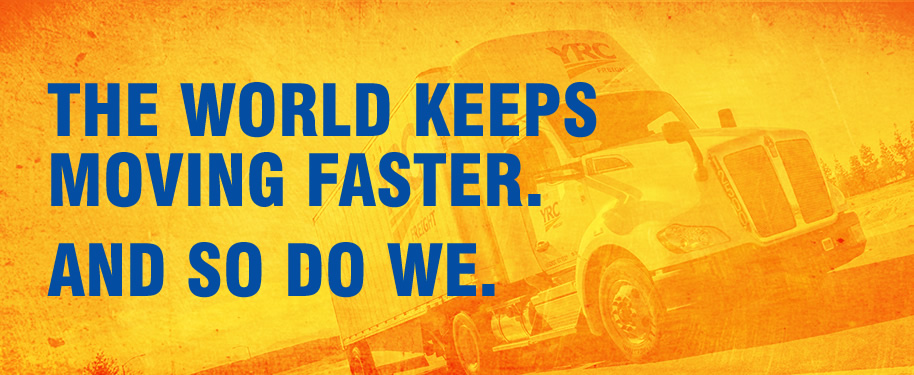 The world keeps moving faster. And so do we.